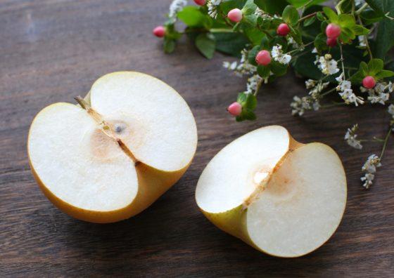 梨は色が変わる