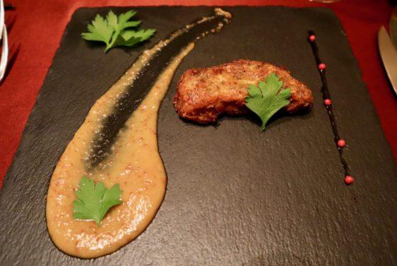 東京・麻布十番のトルコ料理店「ブルガズ・アダ」のフォアグラ