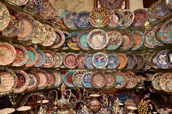 トルコのお土産の食器