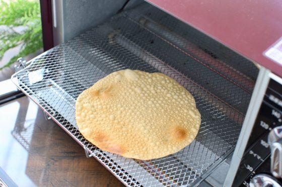 パパドのトースターを使った焼き方