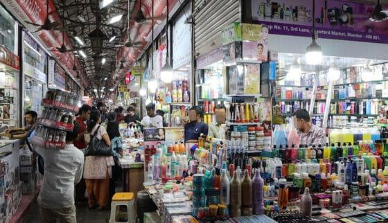 ムンバイのマーケット