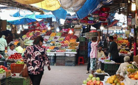 ムンバイの市場