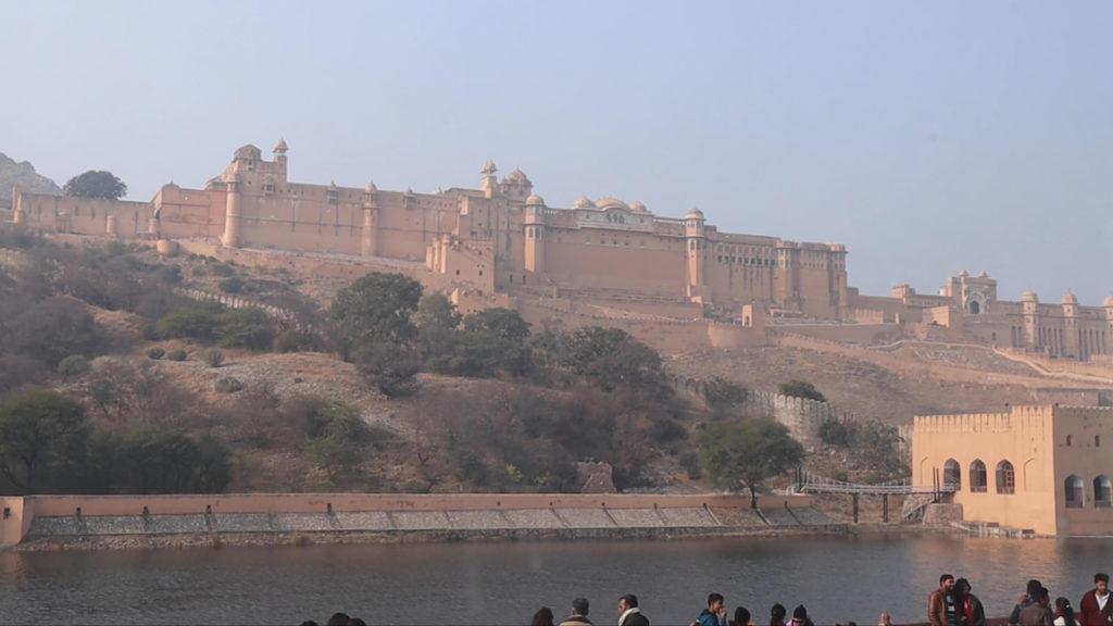 アンベール城(インドのジャイプル)