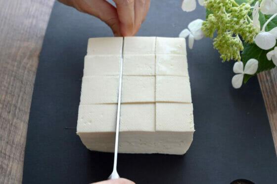 豆腐の切り方