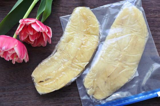 バナナを冷凍する