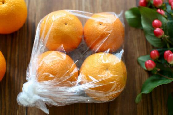 オレンジの保存と冷凍